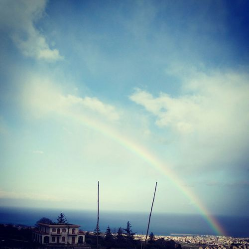 Sicily, Sicilian View, Rainbow, Nature , Enjoying The View , Natural,