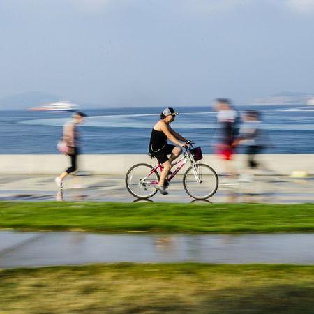 Bisiklet Bostancı sahili Pannning