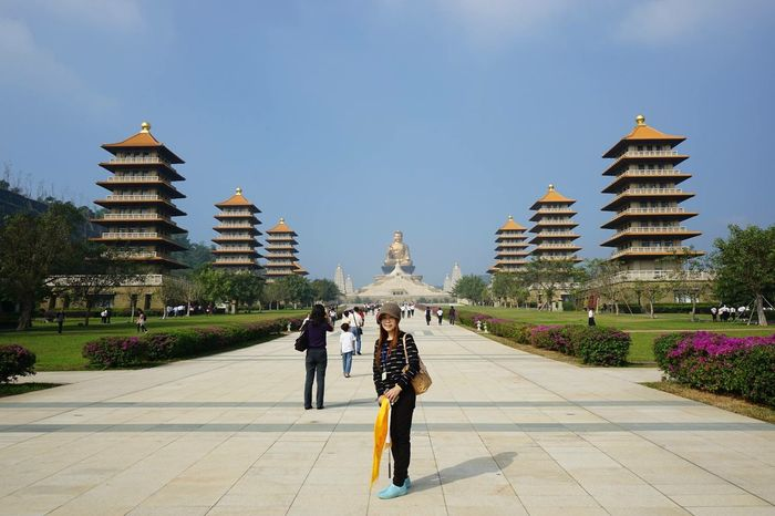 Foguangshan Kaohsiung Taiwan Religion Tourism Travel Travel Destinations People History Beauty Architecture Royalty Outdoors Day Adult City Sky Sonya7m2
