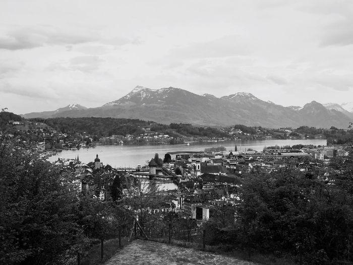 Gütsch Luzern Guetsch Lucerne Switzerland Lake View Nature