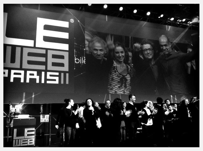 Thank you @geraldine @loic #leweb team for 72h non-stop awesomeness! at LeWeb'11 Thank You @geraldine @loic #leweb Team For 72h Non-stop Awesomeness!