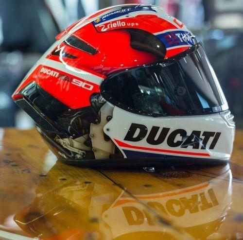 Say hi for my Ducati helmet