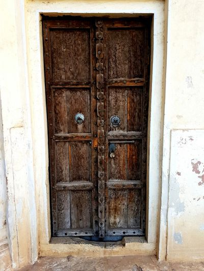 Door With Many Secrets Rajasthan_diaries Jaipur Day Closed Door