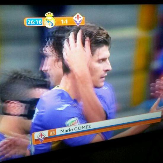 Match Goal Mario Gomez Piękny Gomez #dawaćdawac