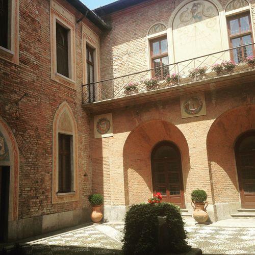 Italy Castello Di San Gaudenzio Medieval Ancient Architecture