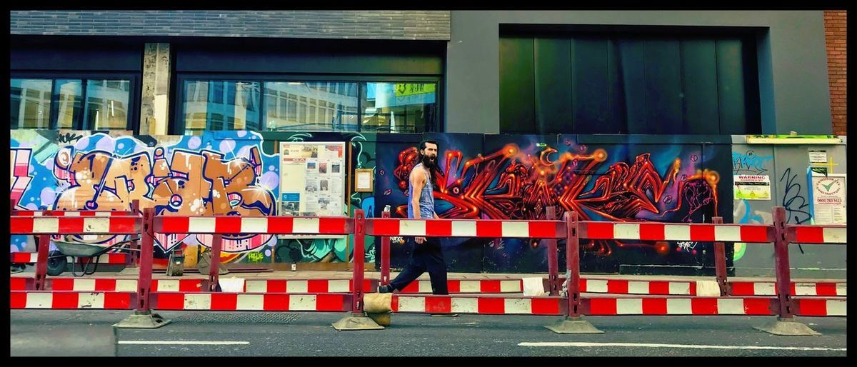 Grafitti Hipster Street - Old Street Public Illuminated Old Old Buildings Street Life Street Art Streetphotography Colours colour of life Color Colorful Colors Vintage Hipster Old Street London Model Day Architecture Large Group Of Objects Built Structure Safety Creativity Graffiti Arrangement Outdoors City Abundance Side By Side Art And Craft