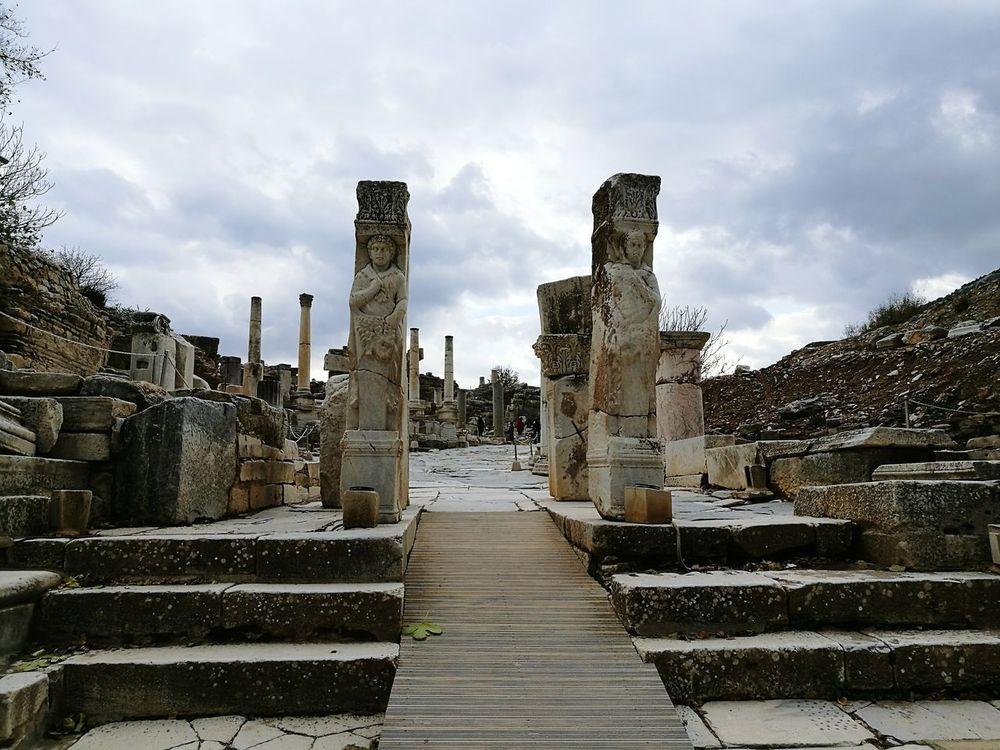 Heracles Gate Heracles Wonderful View Helenistik Greek History Ephesus - Turkey Exciting Turkey Roman History Ephesus Ruins Ephesus Amazing View