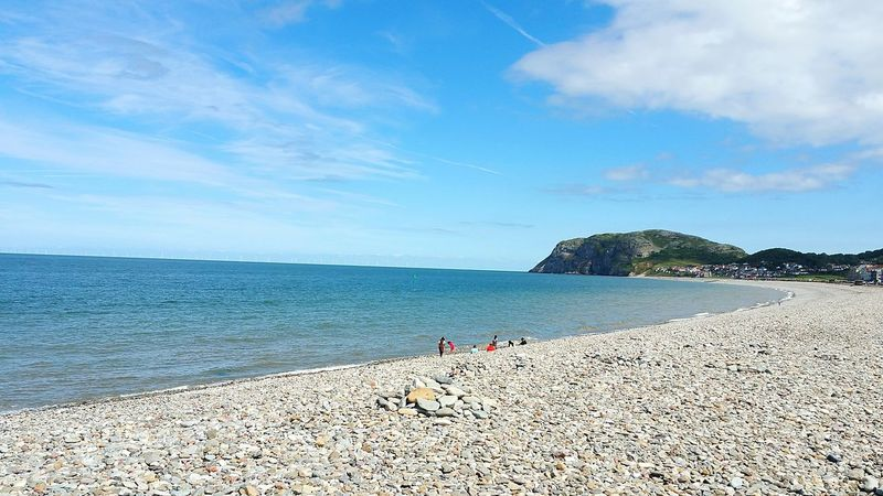 Sea Beach Sand Outdoors Blue Walking Around North Wales Llandudno Coast Llandudno, United Kingdom Llandudno