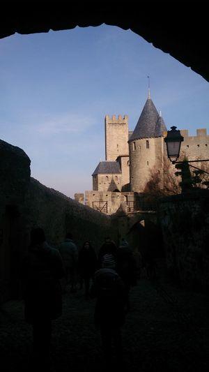 Paseando por Carcassone y de las Torres del Castillo