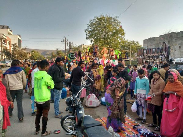 Roadside Weekly Market Friday Women Men Crowd Day Adult Sky People Outdoors Large Group Of People EyeEmNewHere