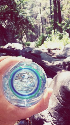 Stay hydrated my friends 💦 Hiking Adventure Forest Park Water Trees