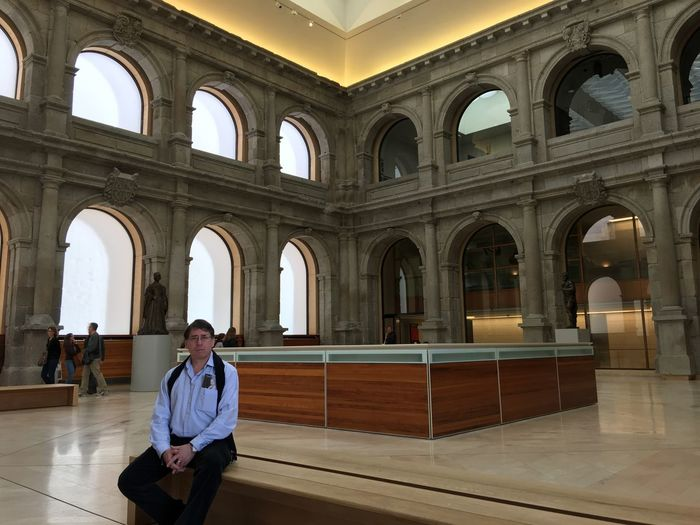 That's Me Taking Photos Enjoying Life Museo Del Prado