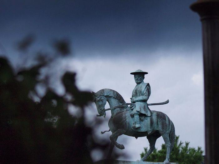 毛利敬親 銅像 Statue
