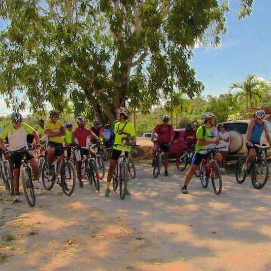 Somewhere In Mexico Bike Ride MTB Jungle Crossing