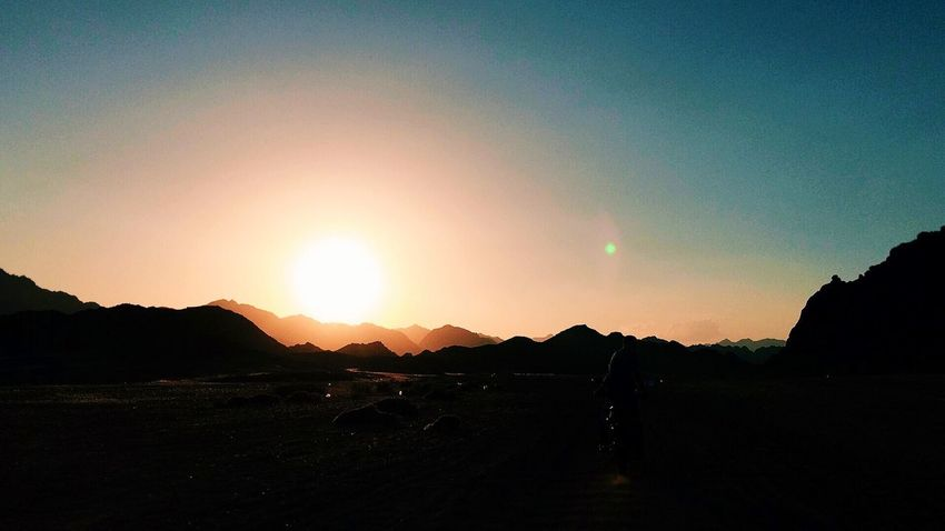 On The Road With BlaBlaCar Enjoying The Sun Sunset Mountains May 2014