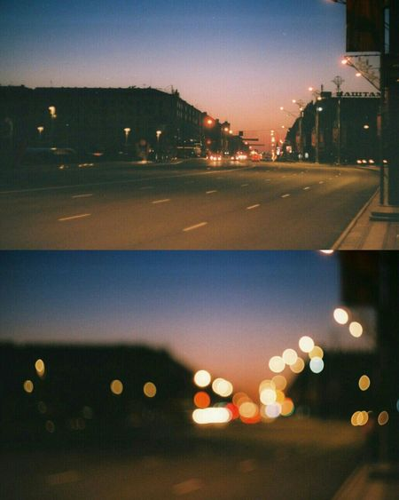 Belarus Minsk Filmphoto Night Night Lights Film Zenit-ET Film Photography 35mm Film Минск беларусь Film Is Not Dead Nofocus