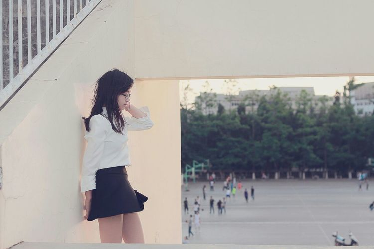 Portrait Faces Of EyeEm People Photography Beauty Beautiful Girl My Love❤ 毕业季 Street Fashion