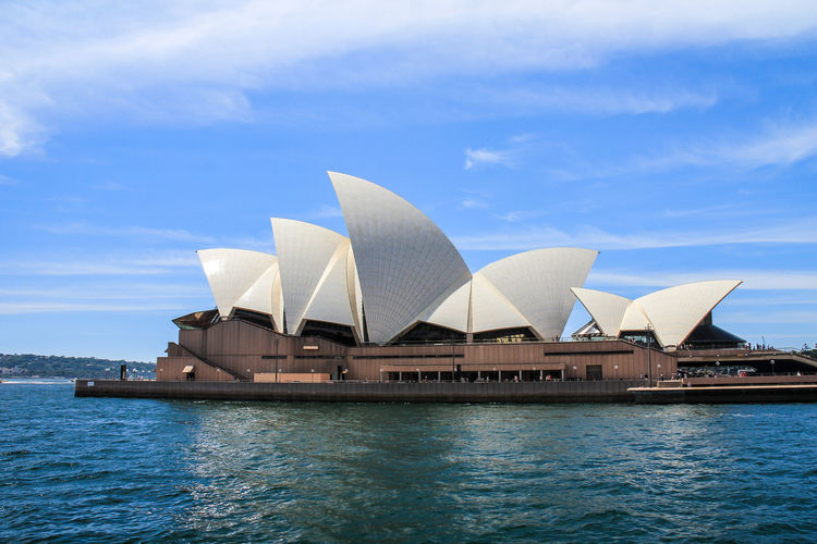 Nice view of Sydney Opera Sydney Sydney, Australia Sydney Opera House Sydney Harbour  Water Architecture Sky Waterfront Built Structure Building Exterior Travel Destinations City Day No People Nature Blue Cloud - Sky Travel Sea Outdoors Modern Arts Culture And Entertainment
