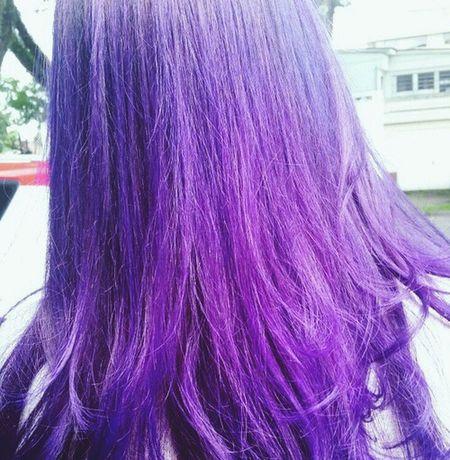 My new hair... Hair Violet Cabelomeu Cabelo Cabelocolorido Coloredhair First Eyeem Photo