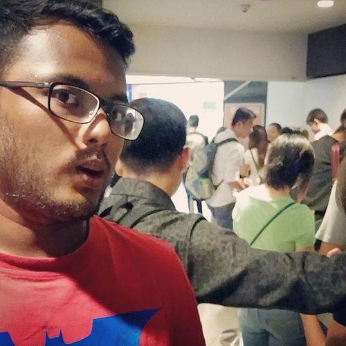 Look at the queue for llao llao Yoghurt Llaollao Batman Toolong queue gf love cantbelieveimdoingitagain beard