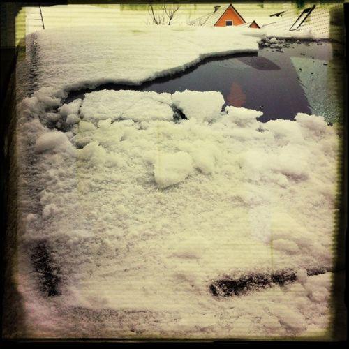 Ice & Snow on my S-Max. Hate it.