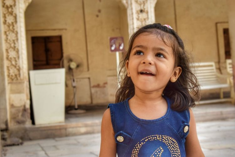 EyeEm Selects Child Portrait Childhood Girls Looking At Camera Happiness Cute Front View Smiling Cheerful Babyhood Toddler  Eye Color One Baby Girl Only Brown Eyes This Is Natural Beauty Moments Of Happiness My Best Photo International Women's Day 2019