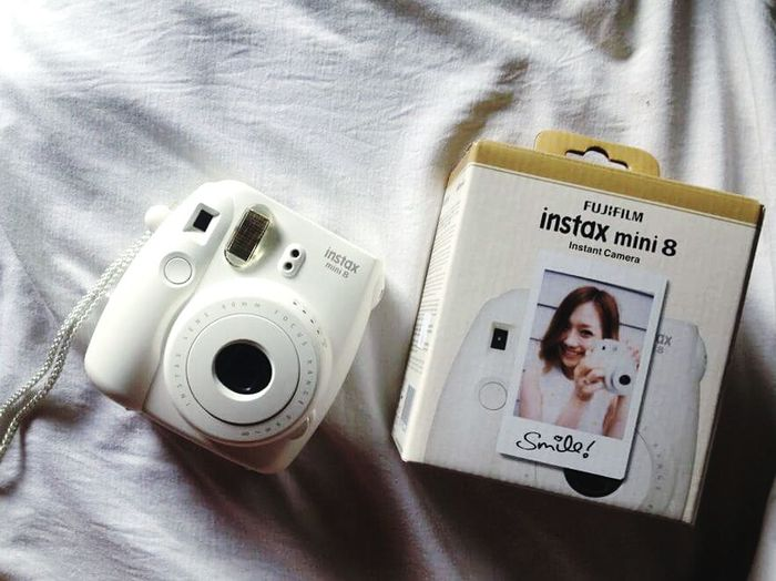 Got my new baby. ♥ Instaxmini8