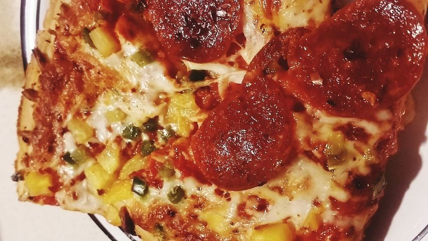 Pizza Hawaiian Pizza Close Up Texture Food Food Porn Delicious Yum Yummy Delicasy