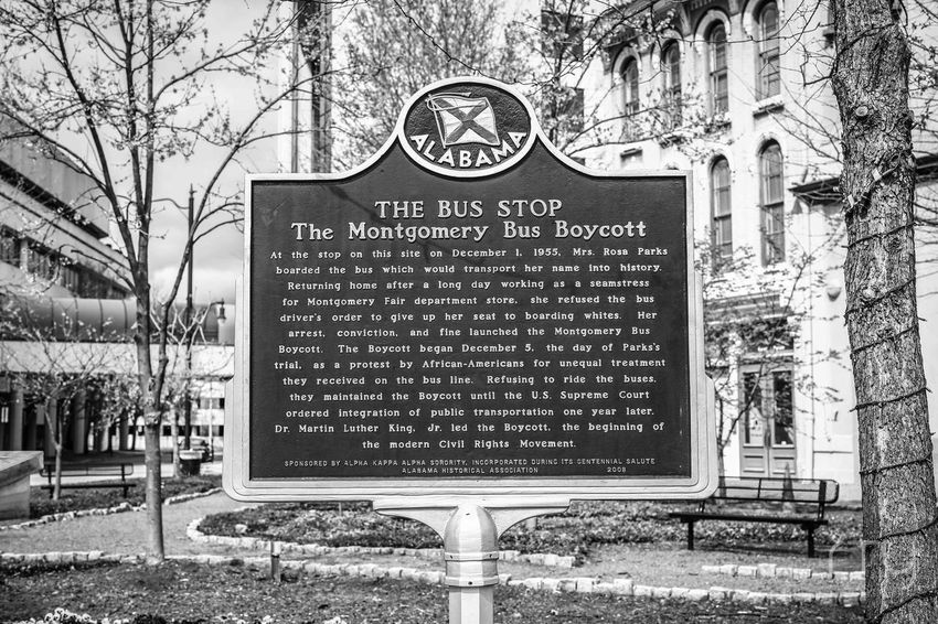 Streetphoto Montgomery, Al. Boycott History Historical Monuments History Through The Lens