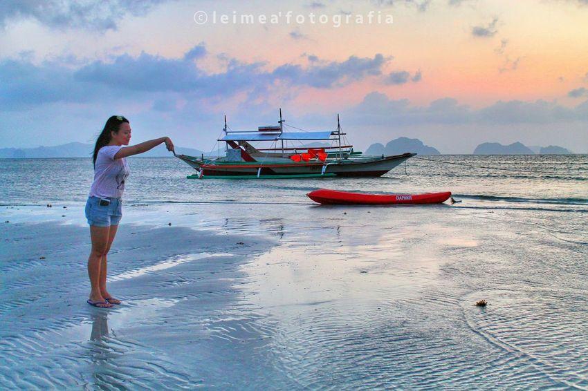 Low tide scene during sunset at Corong-corong beach. Sunset Art AmazingShot Amazingview Fun Iloveelnido Elnidopalawan The Great Outdoors - 2016 EyeEm Awards Photography EyeEm EyeemPhilippines Snapseed Leimeafotografia