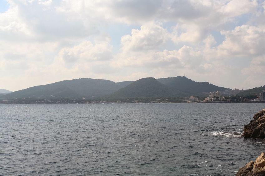 Coast Coastline Mallorca SPAIN Rainy Days Mountains Overview OverviewPoint