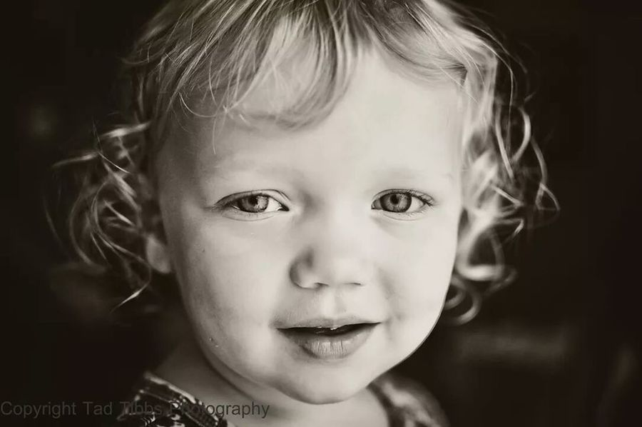 My niece on her bday. Family Tadtibbsphoto Blackandwhite Children's Portraits