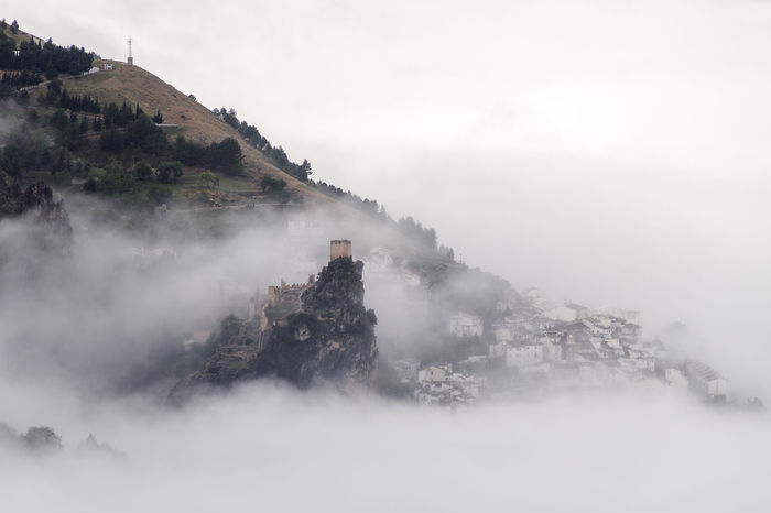 La Iruela Castillo Cazorla Cazorla Jaen
