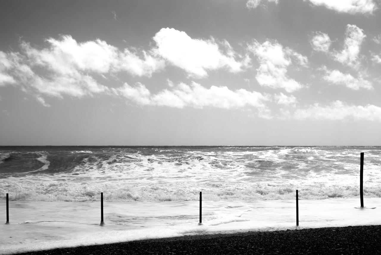 Beach Against Sky