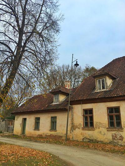 Old Buildings Latvia Baltics2k16