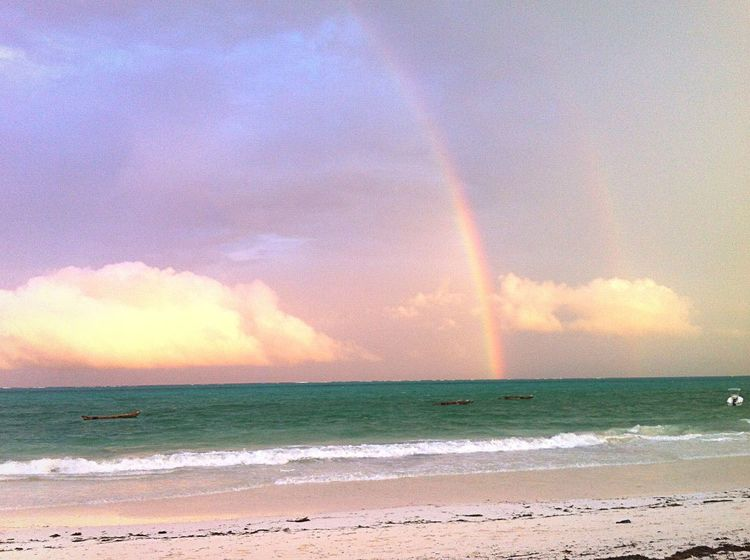 Under The Rainbow In Zanzibar