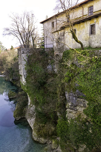 Detail of Cividale del Friuli, a small Italian borgo in northern Italy Antique City Nature Tranquil Udine Wall Architecture Borgo Bridge Buildings Cividale Del Friuli Historical History Italian Italy Old Outdoors River Rocks Scene Scenery Small Town Traditional Village