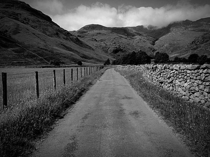 The road to peace . Peace The Lake District  Mountains Beauty Crinklecrags Nature
