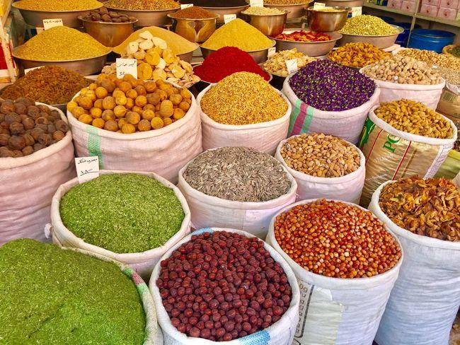 Kerman Iran Bazaar Spice