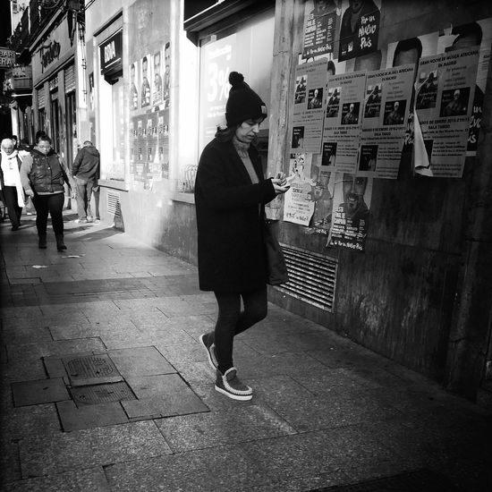 Streetphoto_bw Monochrome_life Woman Bw_collection