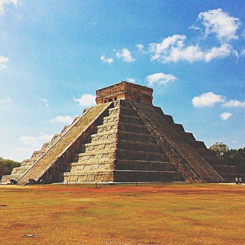 Vacation memory... Chichen Itza Chichen-Itzá Chichenitza Pyramid Trip Holiday Vaction Mayan Riviera Yucatan Mexico Yúcatan Mexico