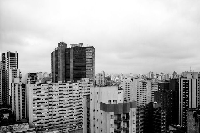 Business Finance And Industry Cloud - Sky Skyscraper Downtown City Street High Angle View Built Structure Architecture Cityscape Blancoynegro Blackandwhite City Life Aerial View Sao Paulo - Brazil Saopaulo Skies The Limit Skyscapes Sky And City Skyviewers Buildings Architecture Noir Et Blanc Bnw_collection Bnw Urban Skyline Apartment