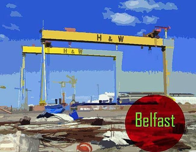 Belfast Harland&Wolff Photography Belfast Cranes H&w