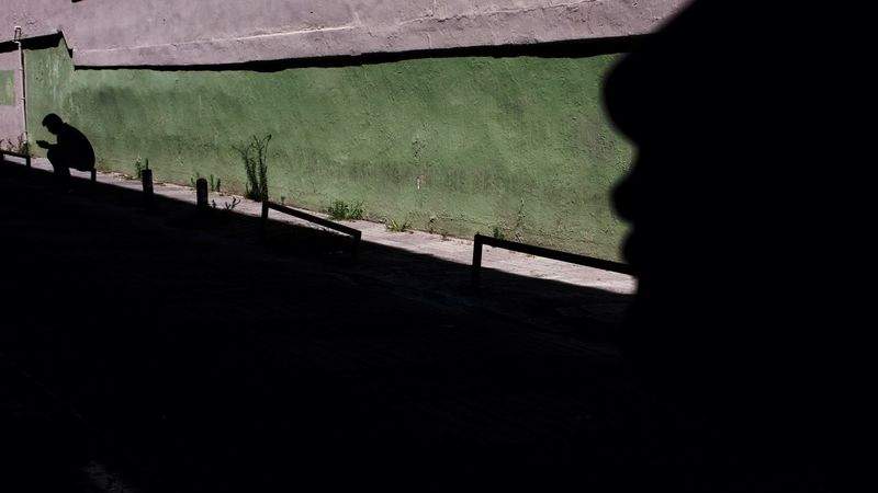 Streetphotography Standing EyeEm Street Photography Street Silhouettes Reflection Urban Urban Geometry Urbanphotography People Istanbul Geometry Green Color Green Shadow Silhouette Sky Focus On Shadow High Street Street Scene
