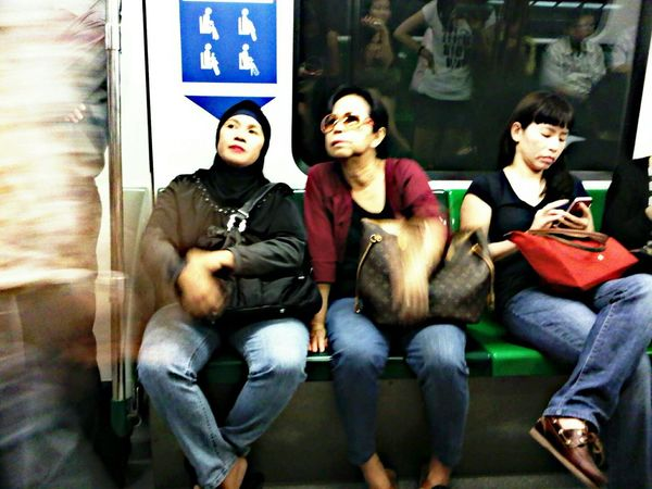 Going somewhere My Daily Commute Singapore Mrt Mothers