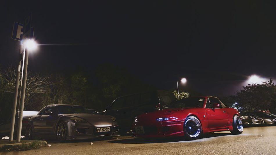 當五遇上八 Mx5 Rx8 Mazda