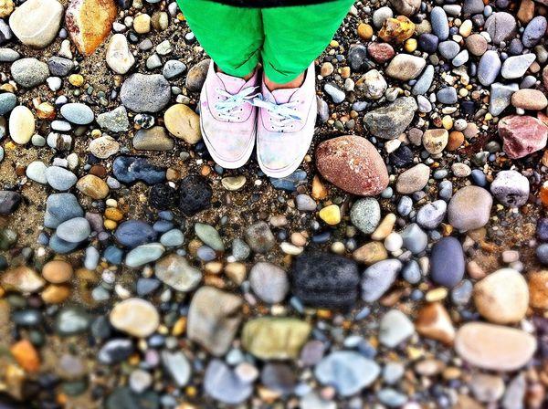 Stones Beachphotography Feet Colour