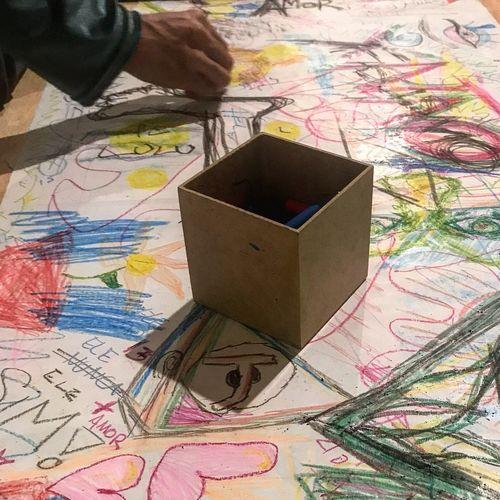 Brincadeira de criança Art And Craft Indoors  Multi Colored Paper Map No People Creativity