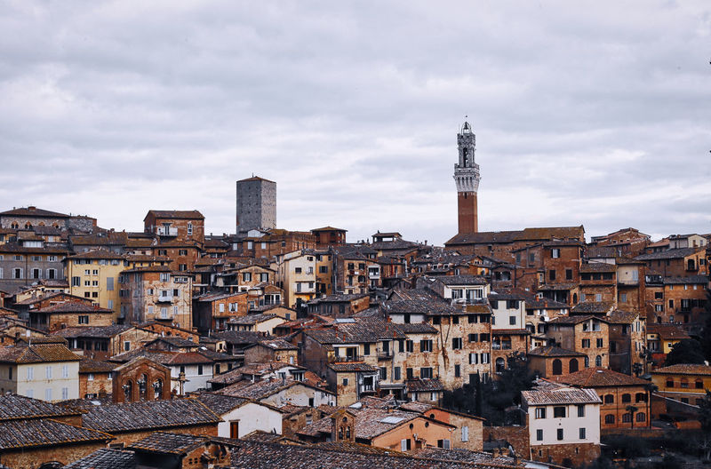 View From San Domenico Siena Architecture Tower Cityscape Sky Travel Destinations Town High Angle View TOWNSCAPE Building Exterior Building City My Best Photo