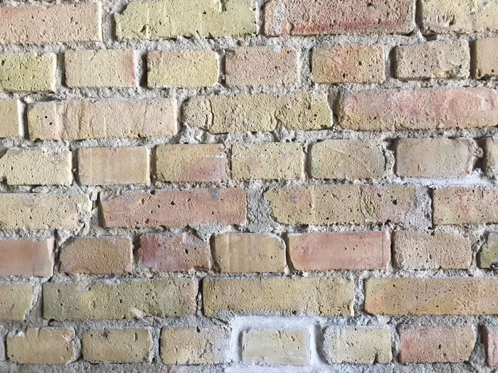 Architecture Wall - Building Feature Backgrounds Built Structure Brick Full Frame Pattern Textured  Brick Wall No People Wall Construction Material Outdoors Close-up Rough